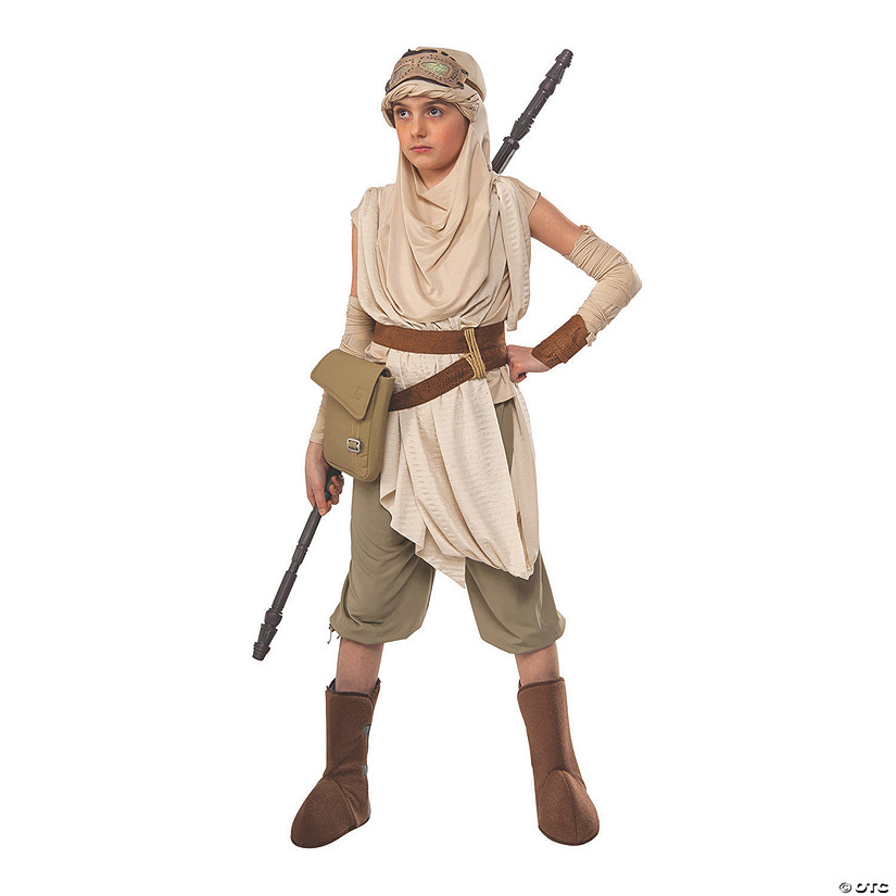 Girl's Premium Star Wars™ Rey Costume