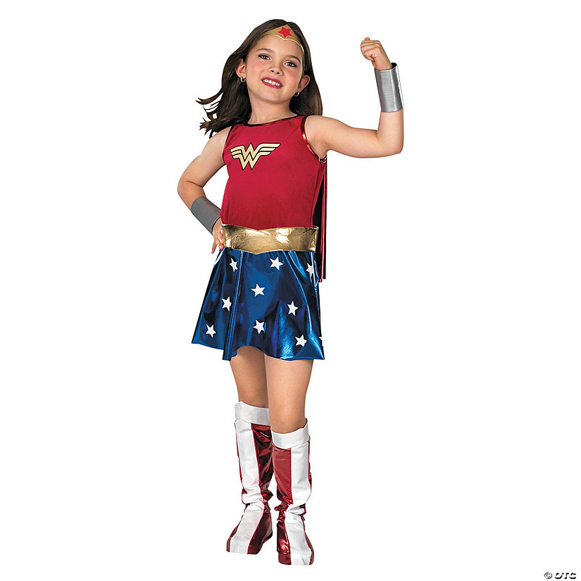 Girl's Premium Wonder Woman Costume