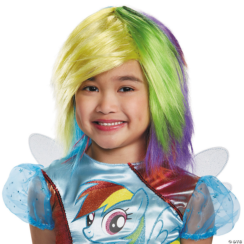 Girl's Rainbow Dash Wig