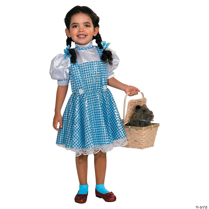Girl's Sequin Wizard of Oz™ Dorothy Costume