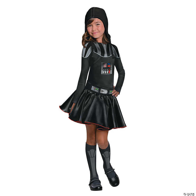 Girl's Star Wars™ Darth Vader Costume