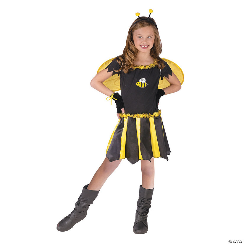 Girl's Sweetheart Bee Costume - Small