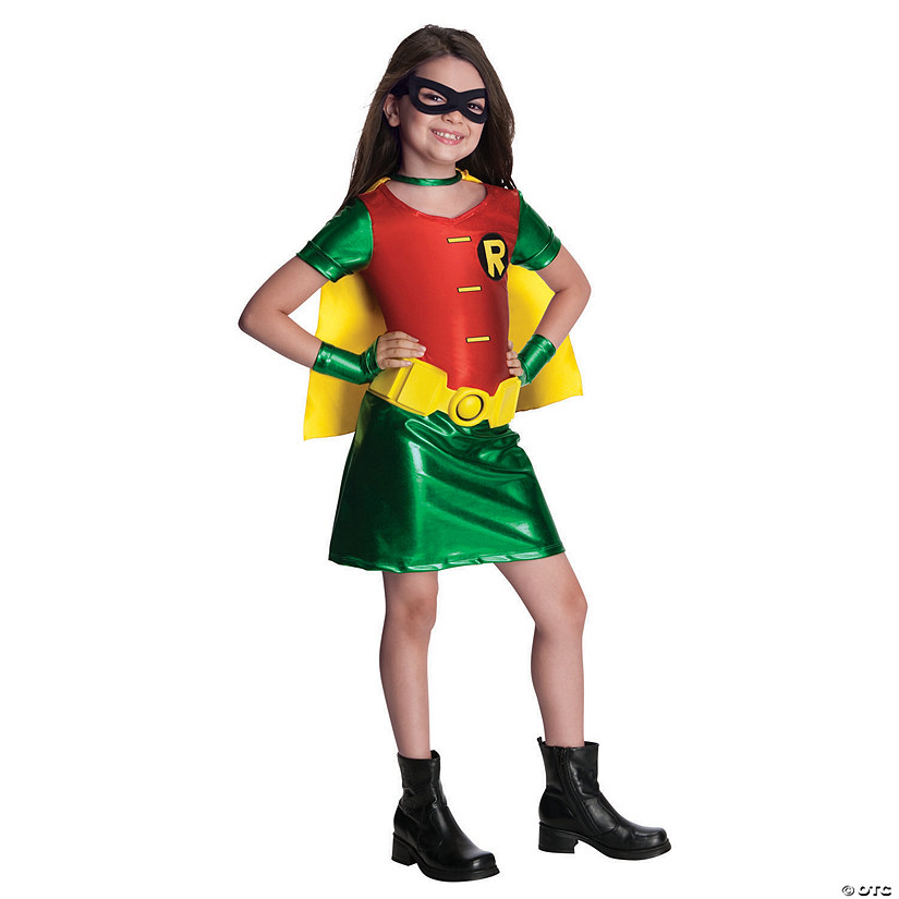 Girl's Teen Titans Robin Costume