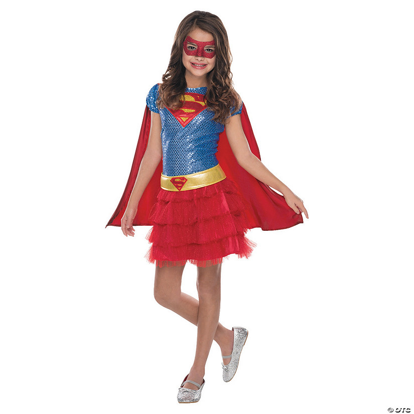 Girl's Tutu Dress Supergirl Costume