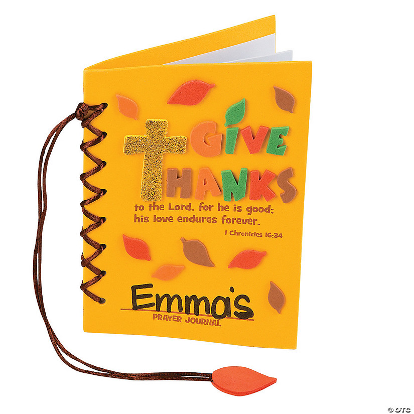 Give Thanks Prayer Journal Craft Kit