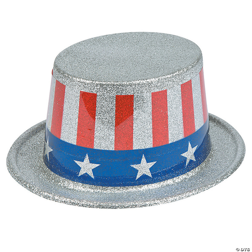 Glitter Stars & Stripes Hats