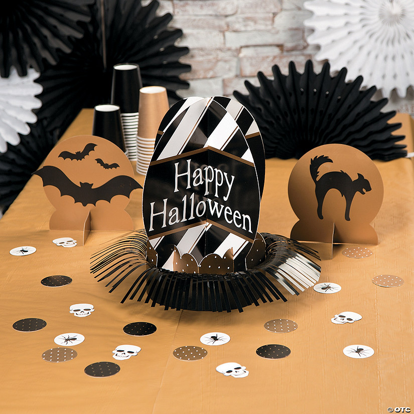 Glitz-O-Ween Table Décor Kit