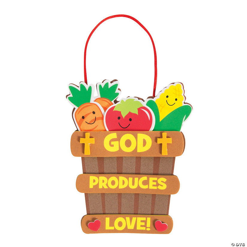 God Produces Love Ornament Craft Kit