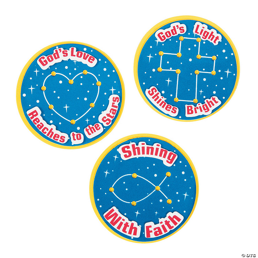 God's Galaxy VBS Constellation Magnet Craft Kit