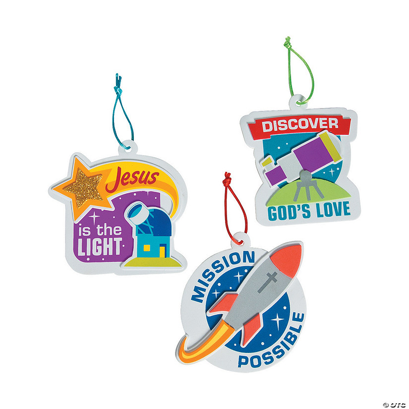 God's Galaxy VBS Ornament Craft Kit