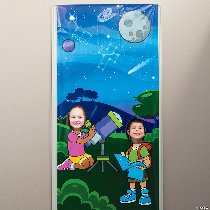 God's Galaxy VBS Star Photo Door Banner