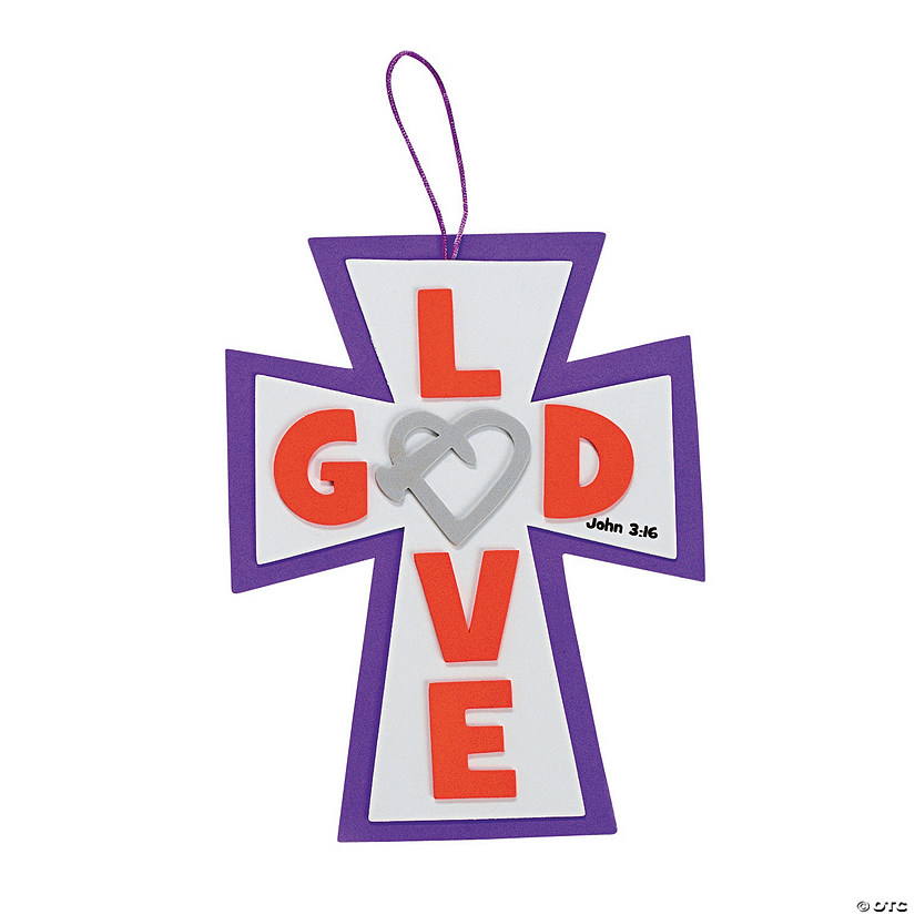 God's Love Nail Sign Craft Kit
