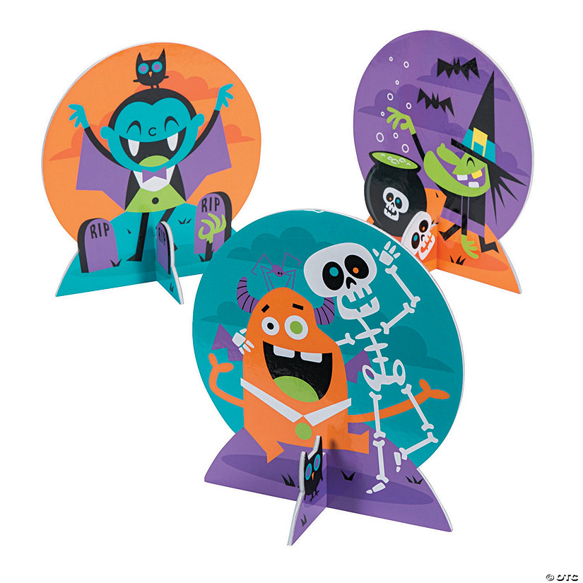 Goofy Ghouls Centerpieces