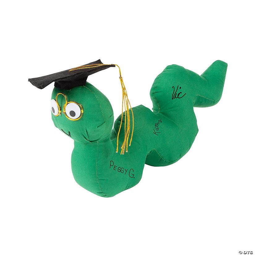 Graduation Autograph Plush Bookworm