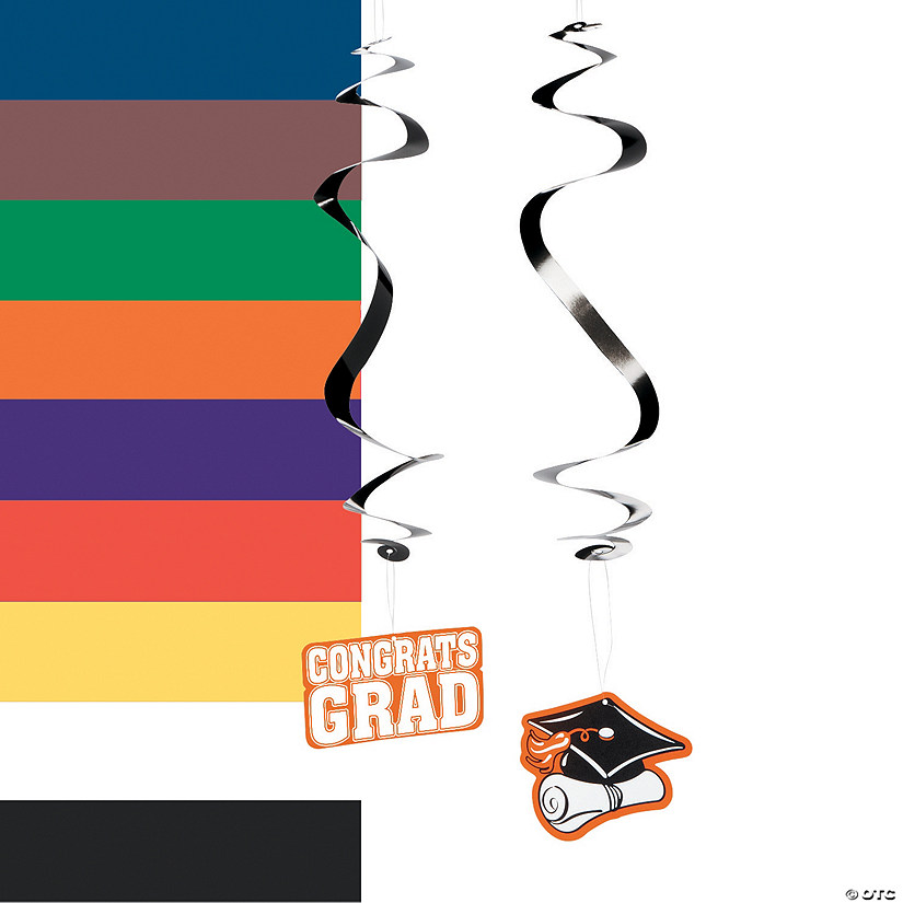 Graduation Hanging Swirls Mega Pack