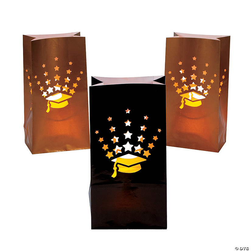 Graduation Luminary Bags