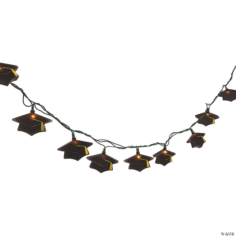 Graduation Mortarboard Party Lights