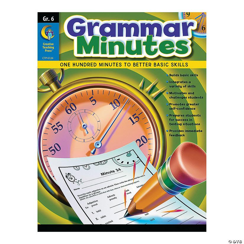 Grammar Minutes Grade 6 Discontinued border=