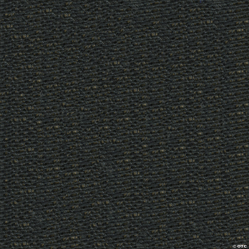 "Greatex Fabric Burlap Fabric 48"" Wide 5yd ROT-Black"