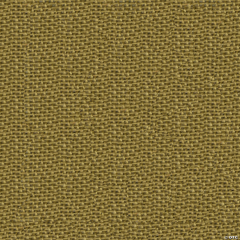 "Greatex Fabric Burlap Fabric 48"" Wide 5yd ROT-Khaki Tan"
