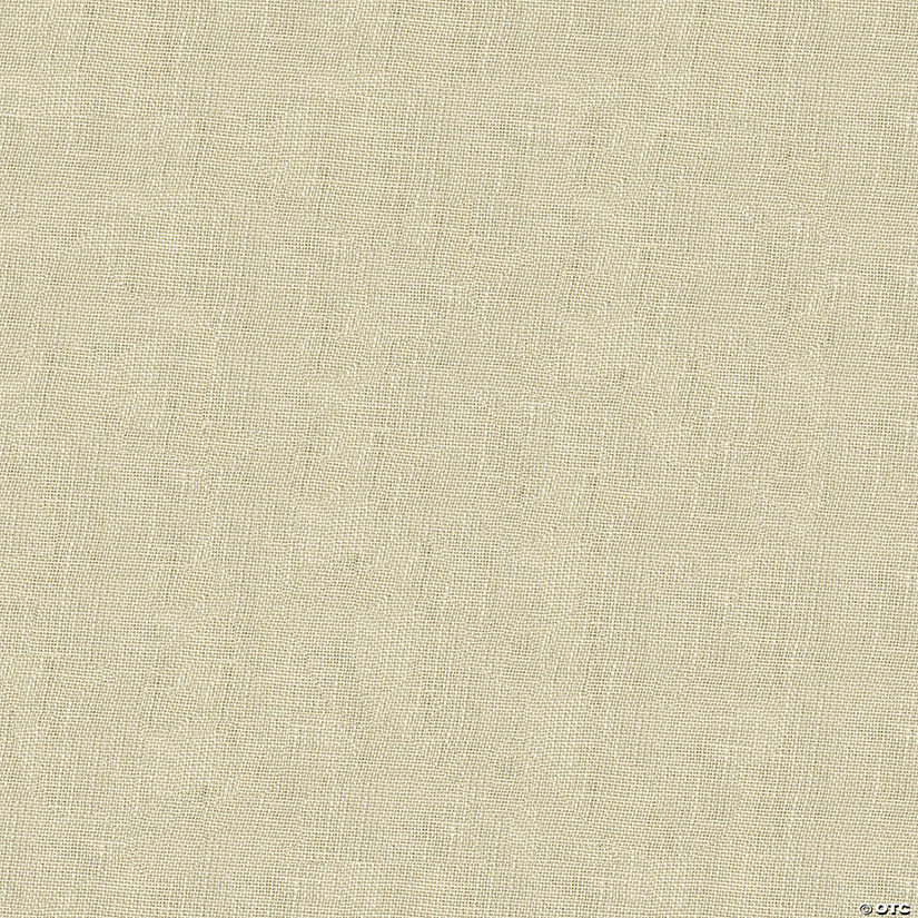"Greatex Fabric Burlap Fabric 48"" Wide 5yd ROT-White"