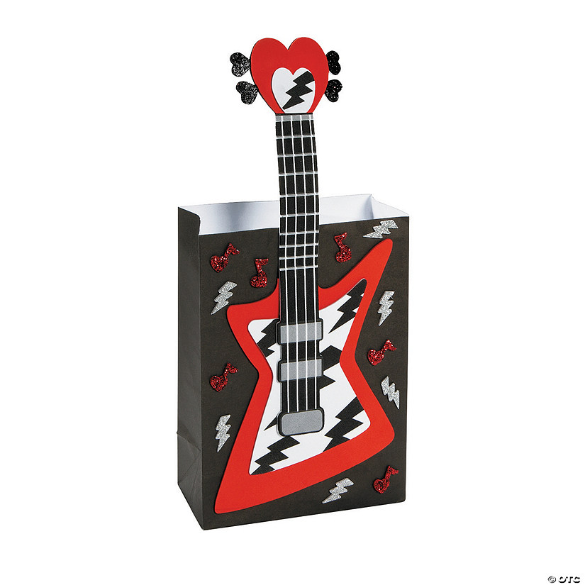 Guitar Valentine Card Holder Craft Kit