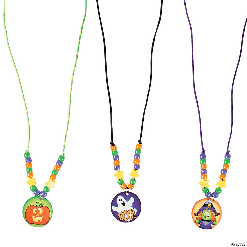 Halloween Beaded Necklace Craft Kit