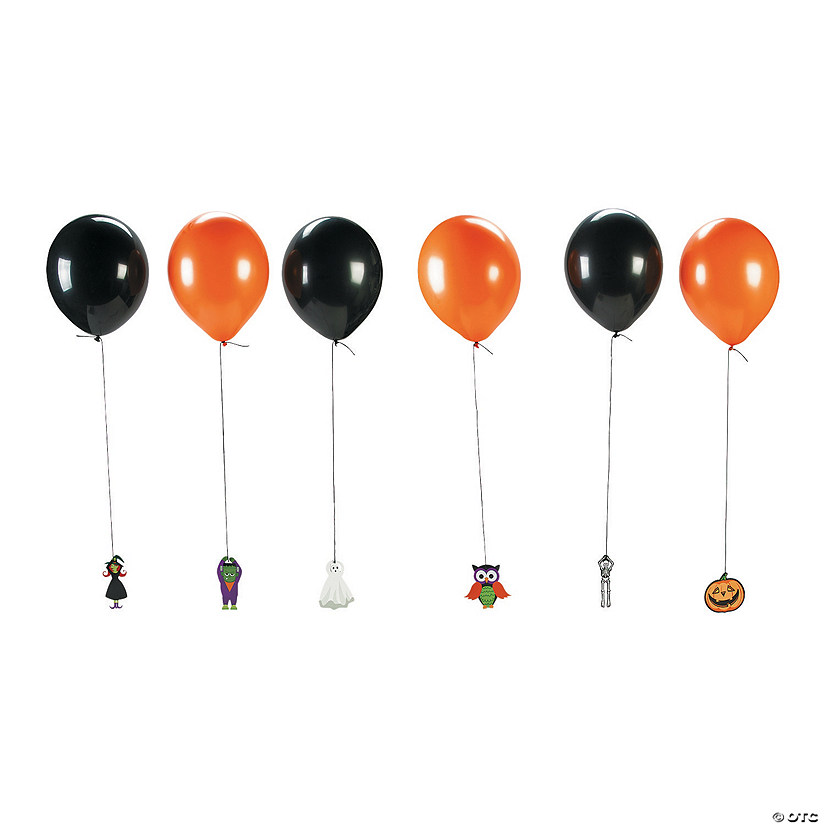 Halloween Latex Balloon Hanging Characters