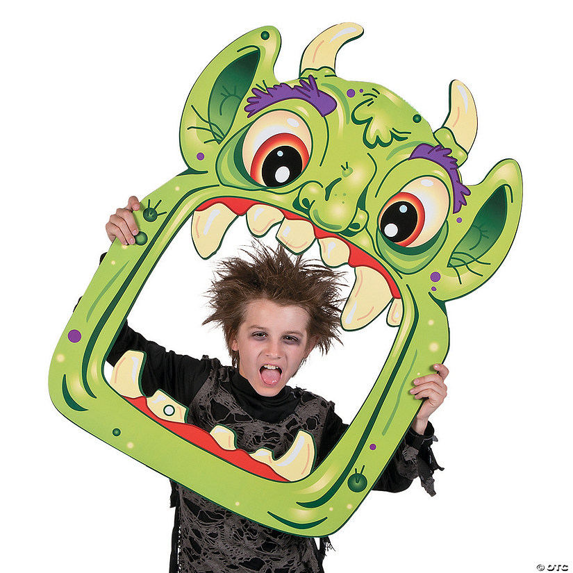Halloween Monster Photo Prop