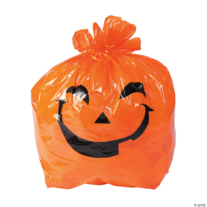 Halloween Pumpkin Yard Bags