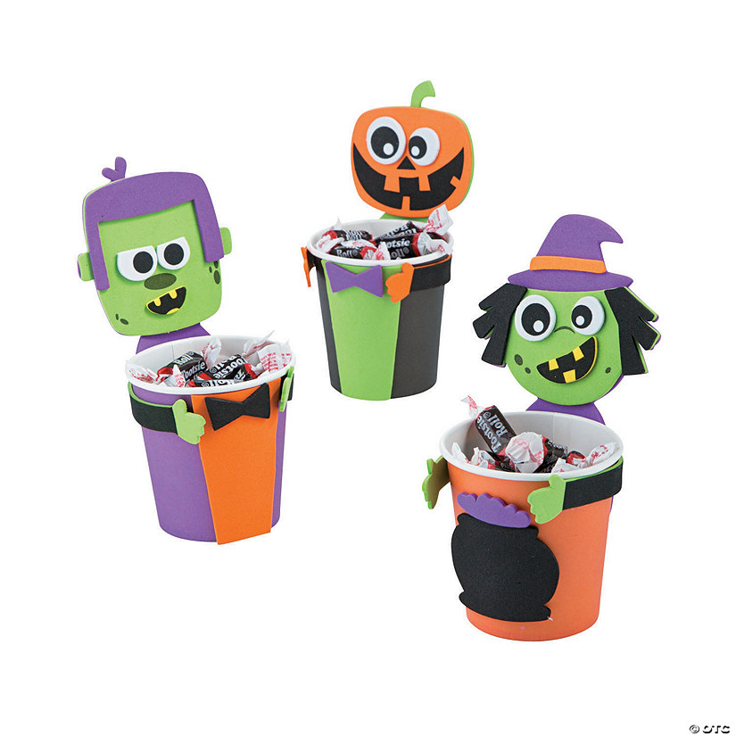 Halloween Treat Cup Hugger Craft Kit