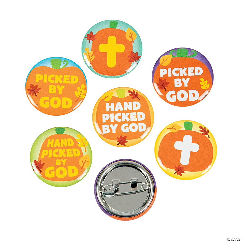 Hand Picked By God Mini Buttons