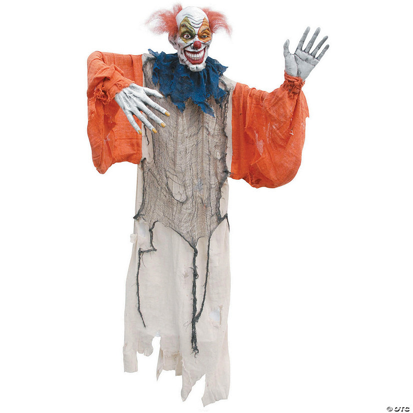 Hanging Creepy Clown Halloween Décor