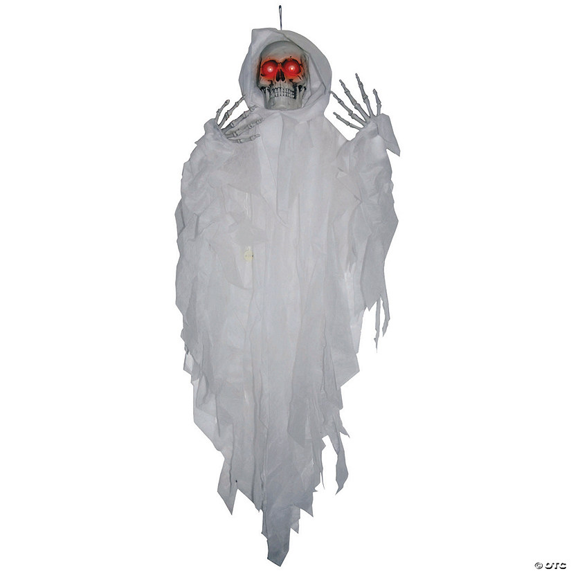 Hanging Light-Up White Reaper Halloween Décor