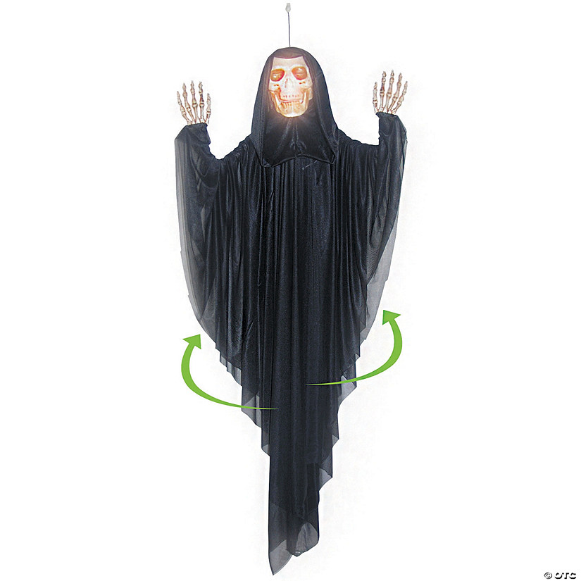 Hanging Spinning Reaper Halloween Décor