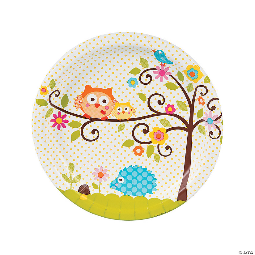 Happi Tree Paper Dinner Plates