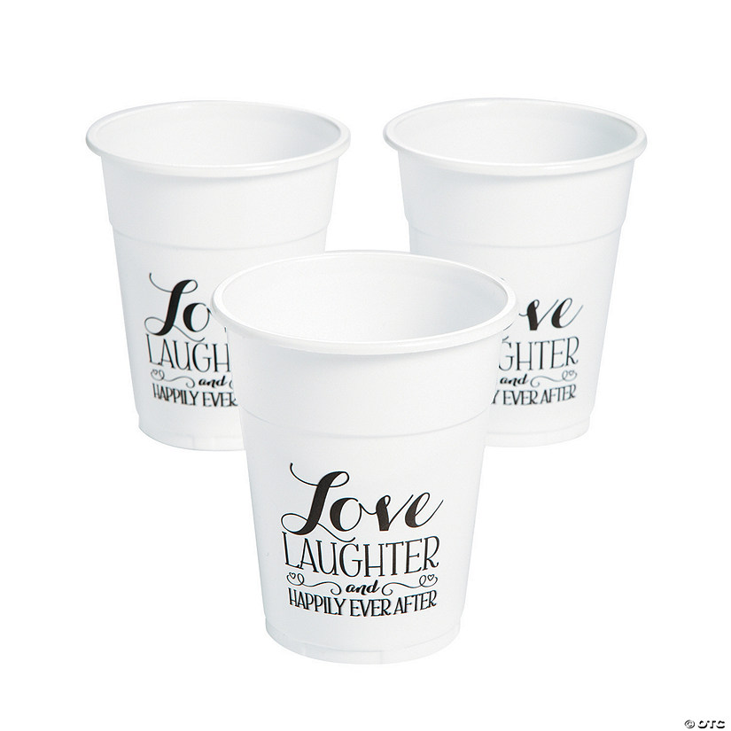 Happily Ever After Plastic Tumblers