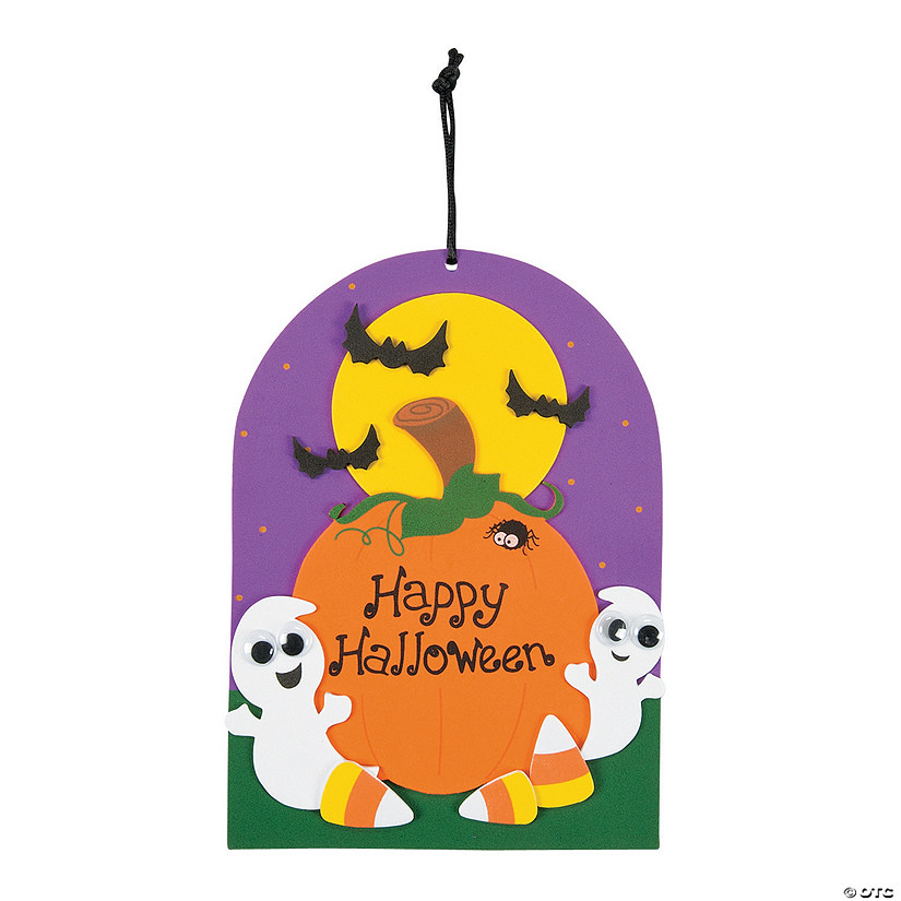 Happy Halloween Ghost Sign Craft Kit