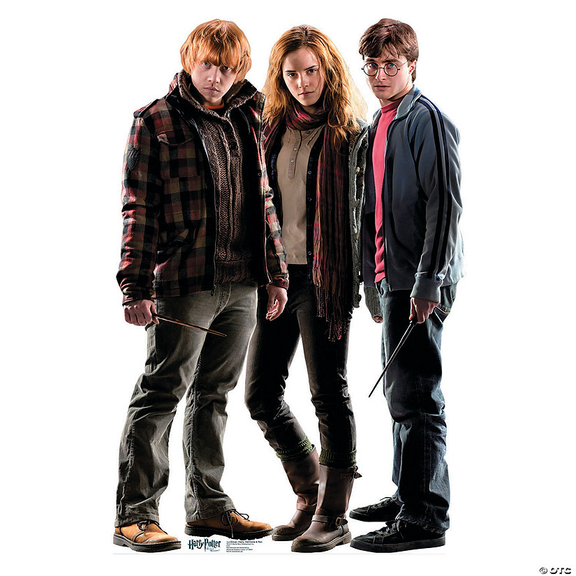 Harry Potter™ Ron, Hermione & Harry Stand-Up