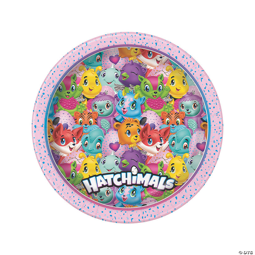 Hatchimals™ Dinner Paper Plates