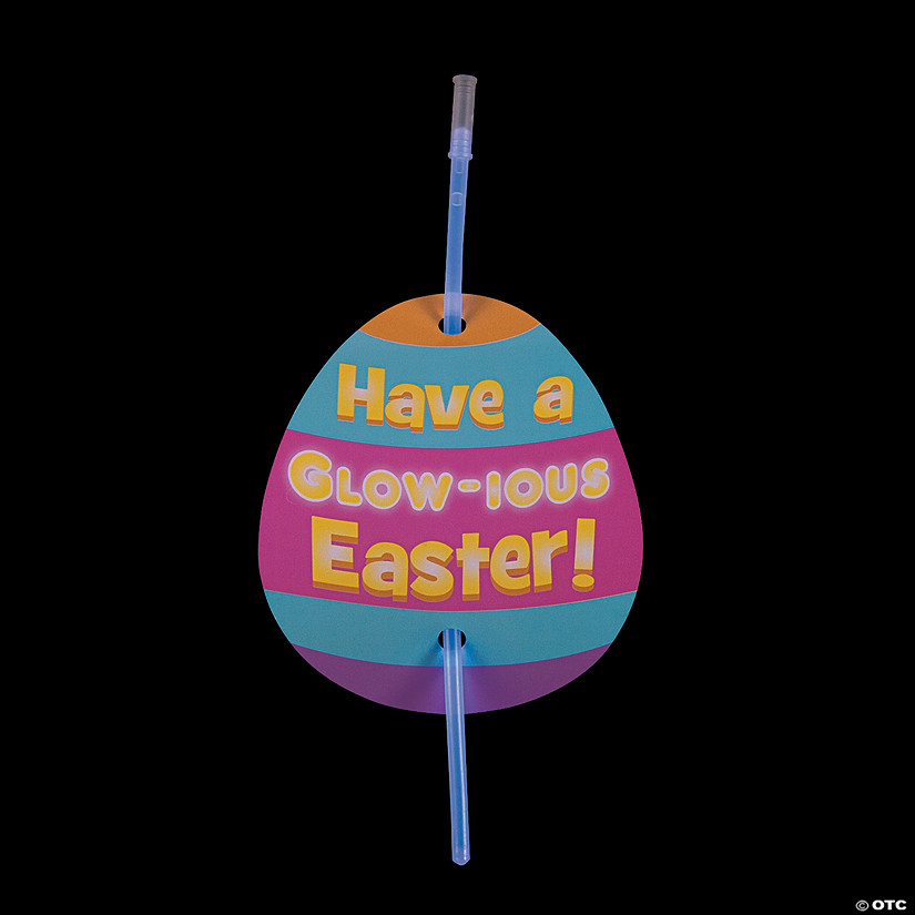 Have a Glow-ious Easter Cards with Glow Bracelets