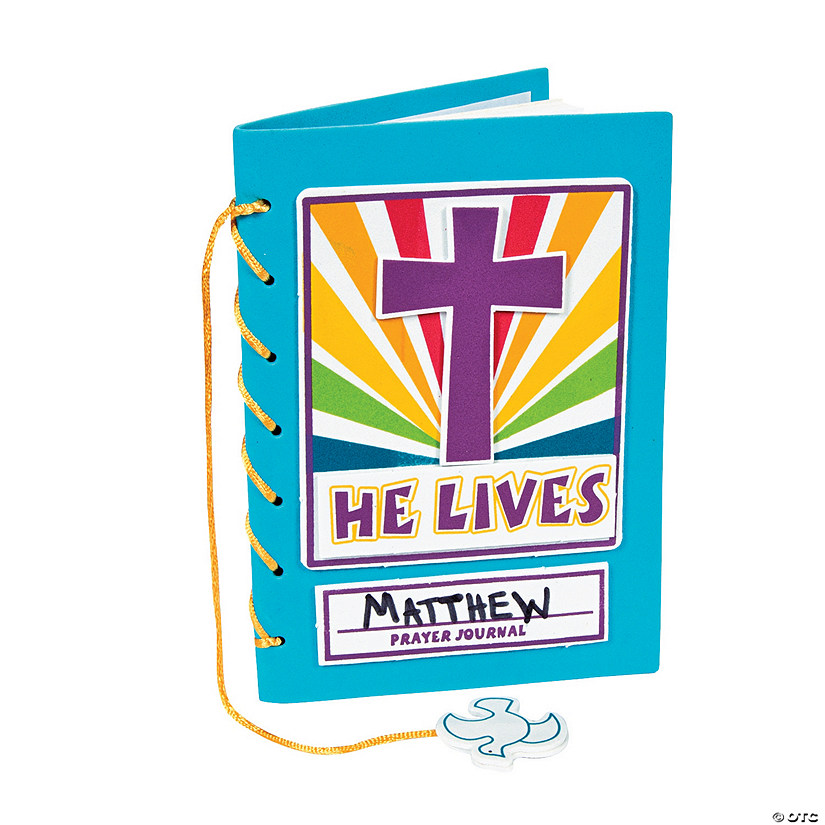 """He Lives!"" Prayer Journal Craft Kit"