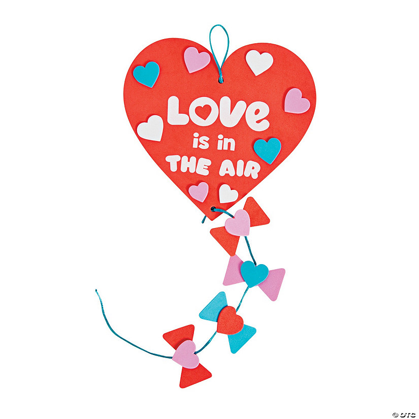 Heart Kite Sign Craft Kit