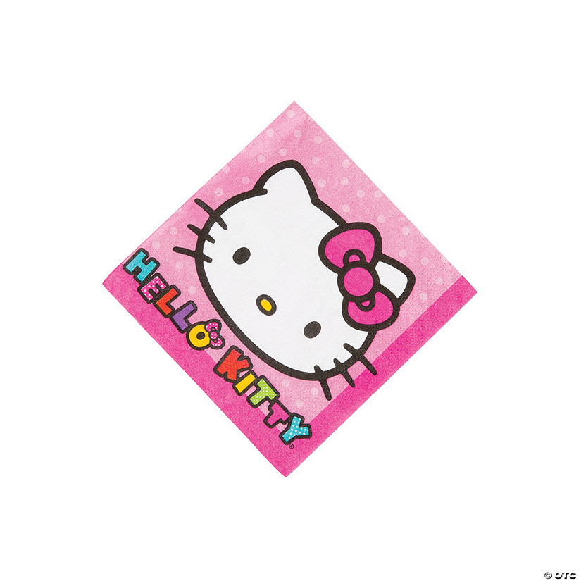 Hello Kitty® Rainbow Beverage Napkins