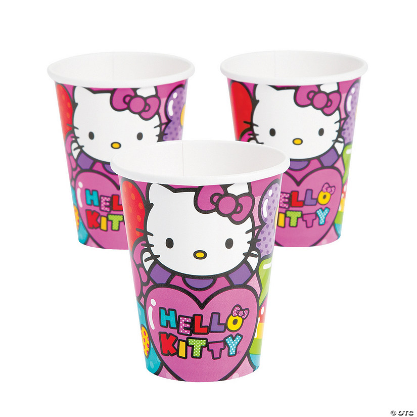 Hello Kitty® Rainbow Paper Cups