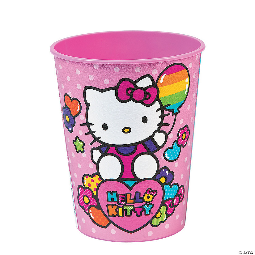 Hello Kitty® Rainbow Plastic Tumblers