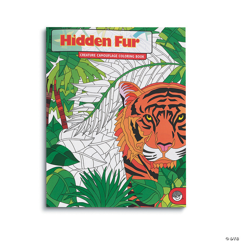 Hidden Fur Coloring Book