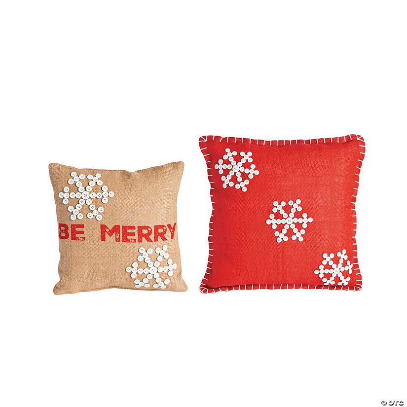 Holiday Handicraft Pillows