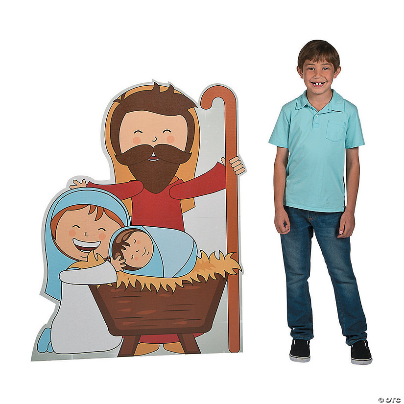 Holy Family Cardboard Stand-Up