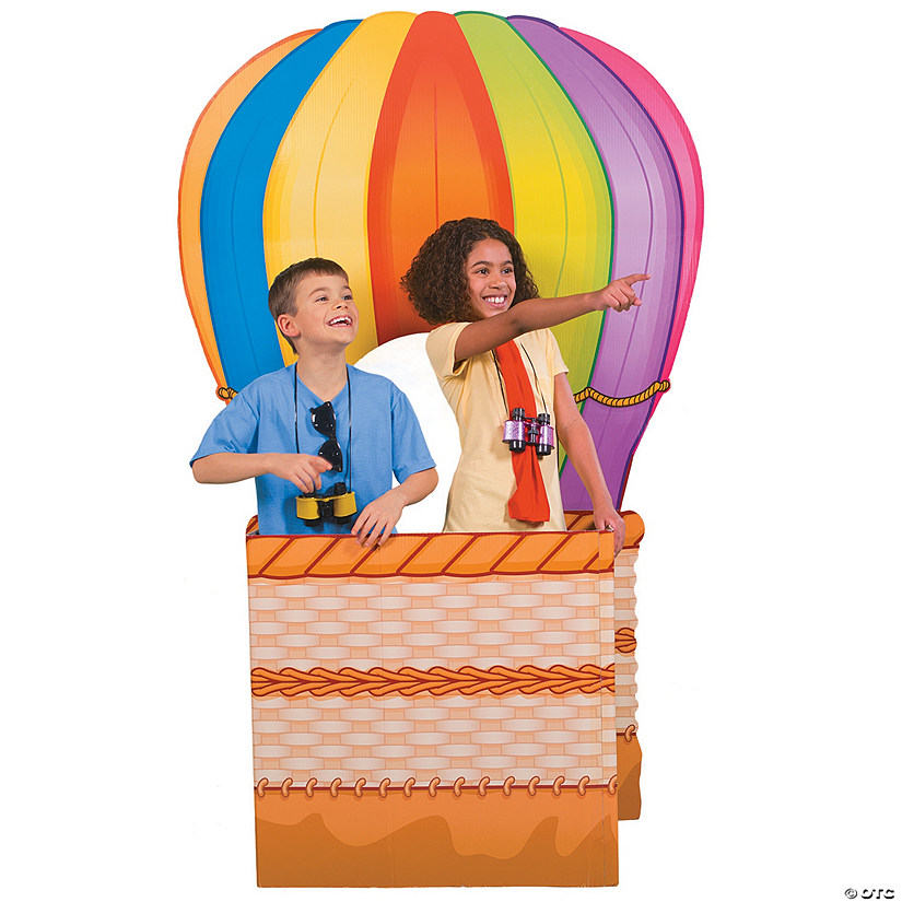 Hot Air Balloon 3D Cardboard Stand-Up
